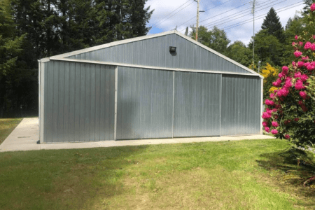 Commercial storage space in Grapeview, WA